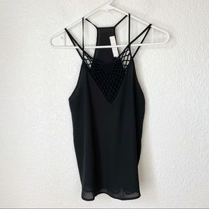 ASTR Strappy Tank Top Small